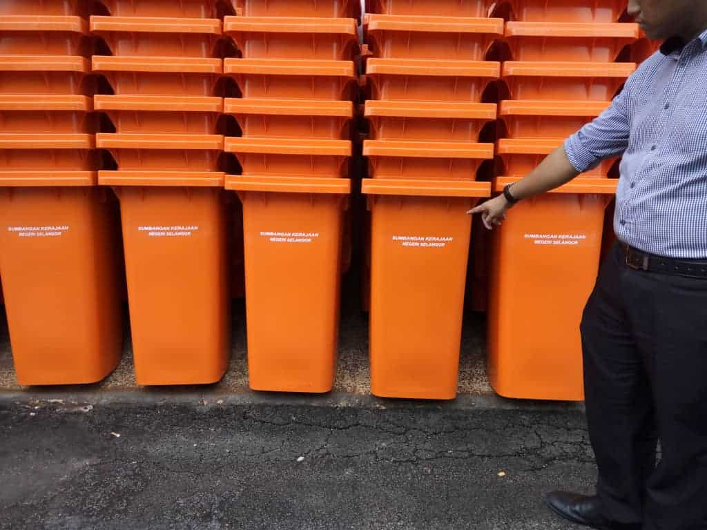 Manufacturing and supply 120L Mobile Garbage Bin